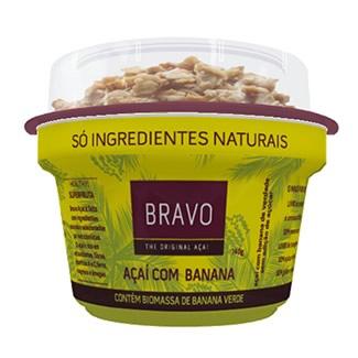 Bravo Açaí com Banana 150G e Granola 20G