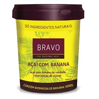 Bravo Açaí com Banana 500G