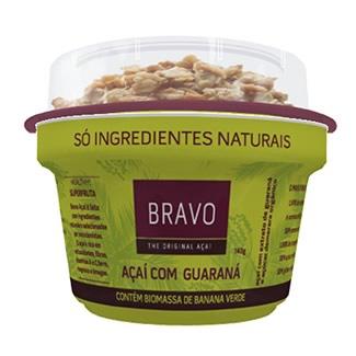 Bravo Açaí com Guaraná 150G e Granola 20G