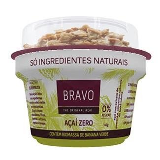 Bravo Açaí Zero 150G e Granola 20G